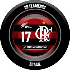 DNZ Football Buttons: CR Flamengo
