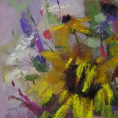 Never Give Up on a Painting, painting by artist Karen Margulis