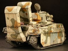 "U.S.M.C model 4 ""sherman"" medium tank with wading snorkels http://www.onefortyeight.com/gallery/shermanpj/index.html"