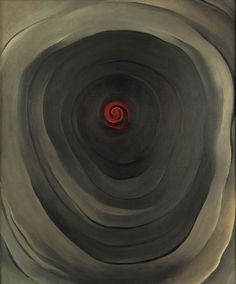 artfromthefuture:Georgia O'Keeffe - A Piece of Wood (1942)