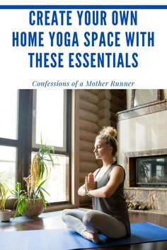 6 Essentials to create your own home yoga space for Create and design your own home yoga space with a few essentials. Stretches For Runners, Yoga For Runners, Glute Isolation Workout, Yoga Bolster, Design Your Own Home, Yoga Strap, Yoga Block, Yoga At Home, Restorative Yoga