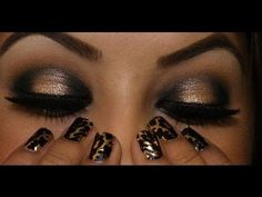 Awesome eye makeup.