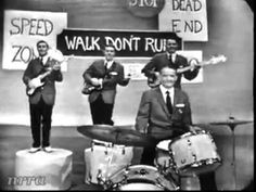 """The Ventures (LIVE) """"Walk Don't Run"""" .. Saturday Night Beech-Nut Show with Dick Clark. August 27, 1960"""