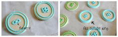 How to make button cookies...
