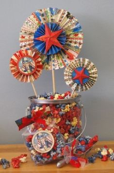 Fourth of July Popcorn