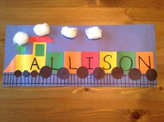 Gallery For > Train Crafts For Preschoolers