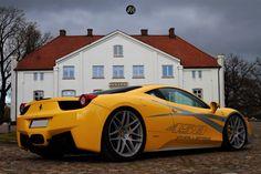 #likemycar #ferrari #ferrari458 #novitec Ferrari 458, Bmw, Landing Gear