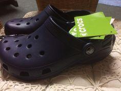 Crocs - Navy  - Size 4 (Ladies) - 3 (Mens) UK - New with tags #Crocs