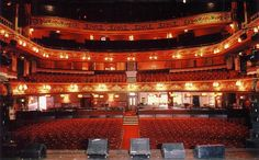 Someday, this will be my view from on stage, except all the seats will be filled!