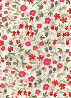 Liberty of London fabric tana lawn Mirabelle 6 x 27 by MissElany, $4.20
