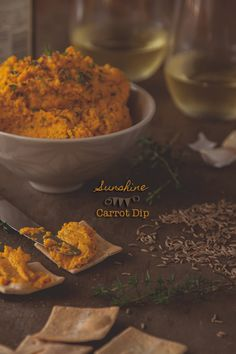 Sunshine Carrot Dip recipe | ledelicieux.com Click for the recipe