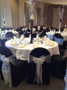 Wedding reception at the ellington in adelaide each table setting decorative table centrepieces with fairy lights for adelaide wedding reception houseofthebride junglespirit Choice Image