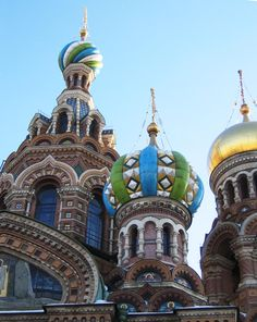 Church of Spilled Blood, St. Petersburg, Russia