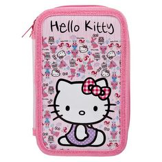 Pencil Case With Stationery - Hello Kitty - Available now on Becky & Lolo