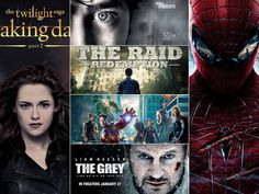 Hollywood - Year 2012 Top Movies Should Nominate for Awards