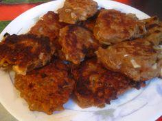 Chamchijeon, czyli placuszki z tuńczykiem ~ Kurczak w cieście na ostro