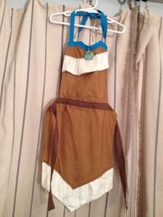 Pocahontas Dress Up Apron