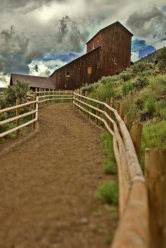 Old Mining Town made into a State Park, Bayhorse, Idaho