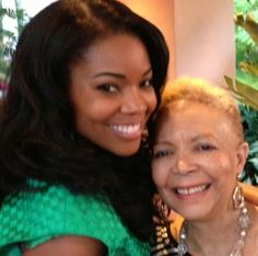 Gabrielle Union and her mom