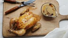 Even novice cooks can make Ina's special-occasion Engagement Roast Chicken.
