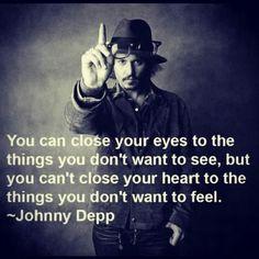 Amazing Johnny Depp #quote