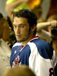 @Tracy Wiseman I've never seen him look this good! Alex Ovechkin, Washington Capitals, Russia