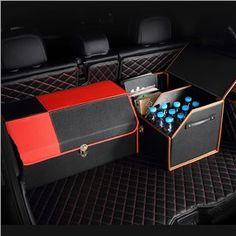 New Fashion Contrast Color Design High Capacity Medium Car Trunk Organizer
