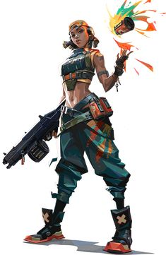 Character Base, Game Character Design, Character Design Inspiration, Character Concept, Cyberpunk Anime, Cyberpunk Games, Riot Games, Game Concept Art, Video Game Characters