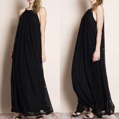 Spotted while shopping on Poshmark: All Over Lace Maxi Dress! #poshmark #fashion #shopping #style #Bare Anthology #Dresses & Skirts
