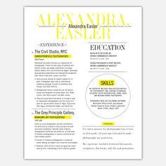 Fab.com | 3 Page Resume Service