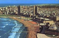 Mar del Plata, a beach in the province of Buenos Aires, Argentina