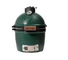 It's the smallest Kamado Grill, but is the Big Green Egg Mini too small? For a pair of steaks, it is perfect, but it won't cook much else.