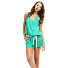Scallop Jumper Emerald now featured on Fab.