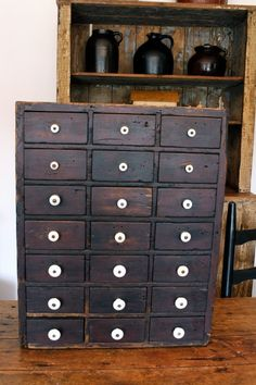 26in tall x 20.75in wide RARE AAFA EARLY ANTIQUE 21 DRAWER APOTHECARY CABINET CUPBOARD ORIGINAL KNOBS!! #NaivePrimitive