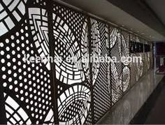 Image result for Metal wall panel decor with lighting