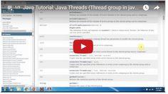 ramram43210,J2EE,Java,java tutorial,java tutorial for beginners,java tutorial for beginners with examples,java programming,java programming tutorial,java video tutorials,java basics,java basic tutorial,java basics for beginners,java basic concepts,java basics tutorial for beginners,java programming language,thread in java,java threads tutorial,java threads,multithreading in java,Java Thread group,Thread group in java