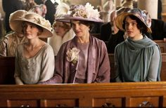 Downton Abbey - when hats were hats