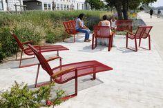 Méridiennes et bancs Garden City - Boulogne-Sur-Mer (62) - Sineu Graff Le Mobilier Urbain http://www.sineugraff.com/