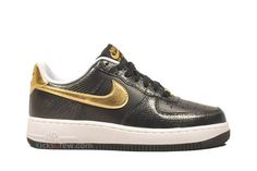 45916b340e1 Nike WMNS Air Force 1 Low - Black Snake - Gold - SneakerNews.com. Air Force  OnesTenisky ...