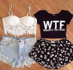shirt wtf shirt quote on it crop tops spring shorts coat