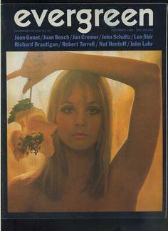 Evergreen magazine cover may 1970 magazine for Evergreen magazine
