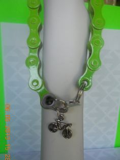 Bracelet made of Recycled Bicycle Chain by Jewelry4TheCause, $10.00