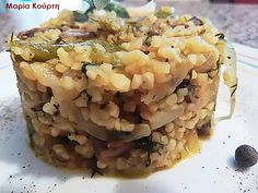 Συνταγές για διαβητικούς και δίαιτα: Ζεστό ταμπουλέ με μανιτάρια & πολλά λαχανικά