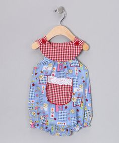 Take a look at this Blue Ladybug Bubble Bodysuit - Infant  by Beary Basics on #zulily today!