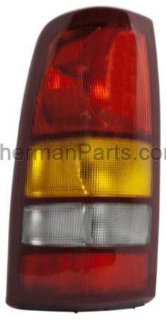 1999-2002 Chevrolet Silverado Pickup (Classic) Tail Lamp LH (NSF)