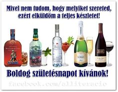 Happy Names, Happy Brithday, Name Day, Vodka Bottle, Tea Party, Fun Facts, Champagne, Birthday, Bor