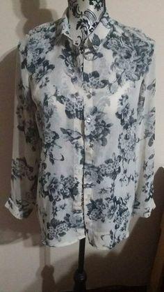Koszula new Look kwiaty rozmiar 40 cena 15 zł