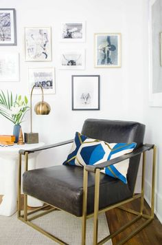 Kevin O'Gara from Thou Swell and Gwen Hefner from The Makerista nailed it. Click through for more decor inspiration and trends to try.