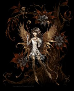 Dark Fairy Photo: This Photo was uploaded by pattywithington. Find other Dark Fairy pictures and photos or upload your own with Photobucket free image a. Fairy Dust, Fairy Land, Fairy Tales, Forest Fairy, Amy Brown Fairies, Elves And Fairies, Magical Creatures, Fantasy Creatures, Kobold