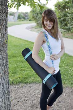 DIY: fitness mat strap